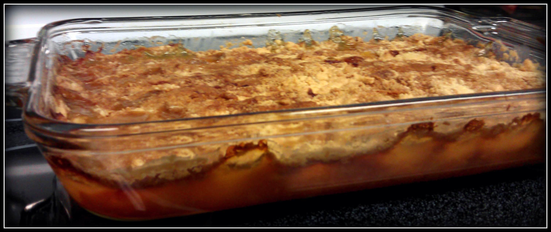 Peach Cobbler With White Cake Mix Recipe