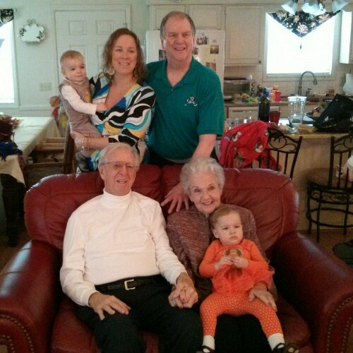Four Coggins generations