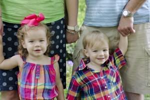 Lucy & Zach 2 year