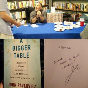 SuzsTreats JohnPavlovitz A Bigger Table
